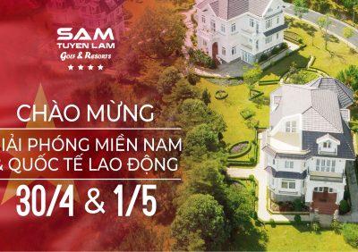 """(Tiếng Việt) """"Buffet trọn niềm vui"""" tại thiên đường nghỉ dưỡng ở Đà Lạt dịp 30/4"""