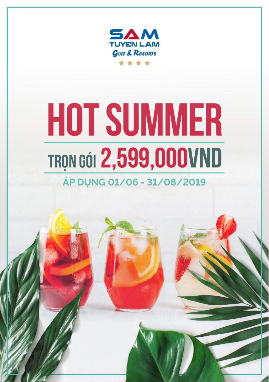 HOT Summer at SAM Tuyen Lam Resort Da Lat