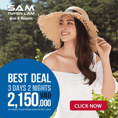 SAM Tuyền Lâm Resort Đà Lạt tung gói ưu đãi Thu Đông chỉ 2.150.000 VND
