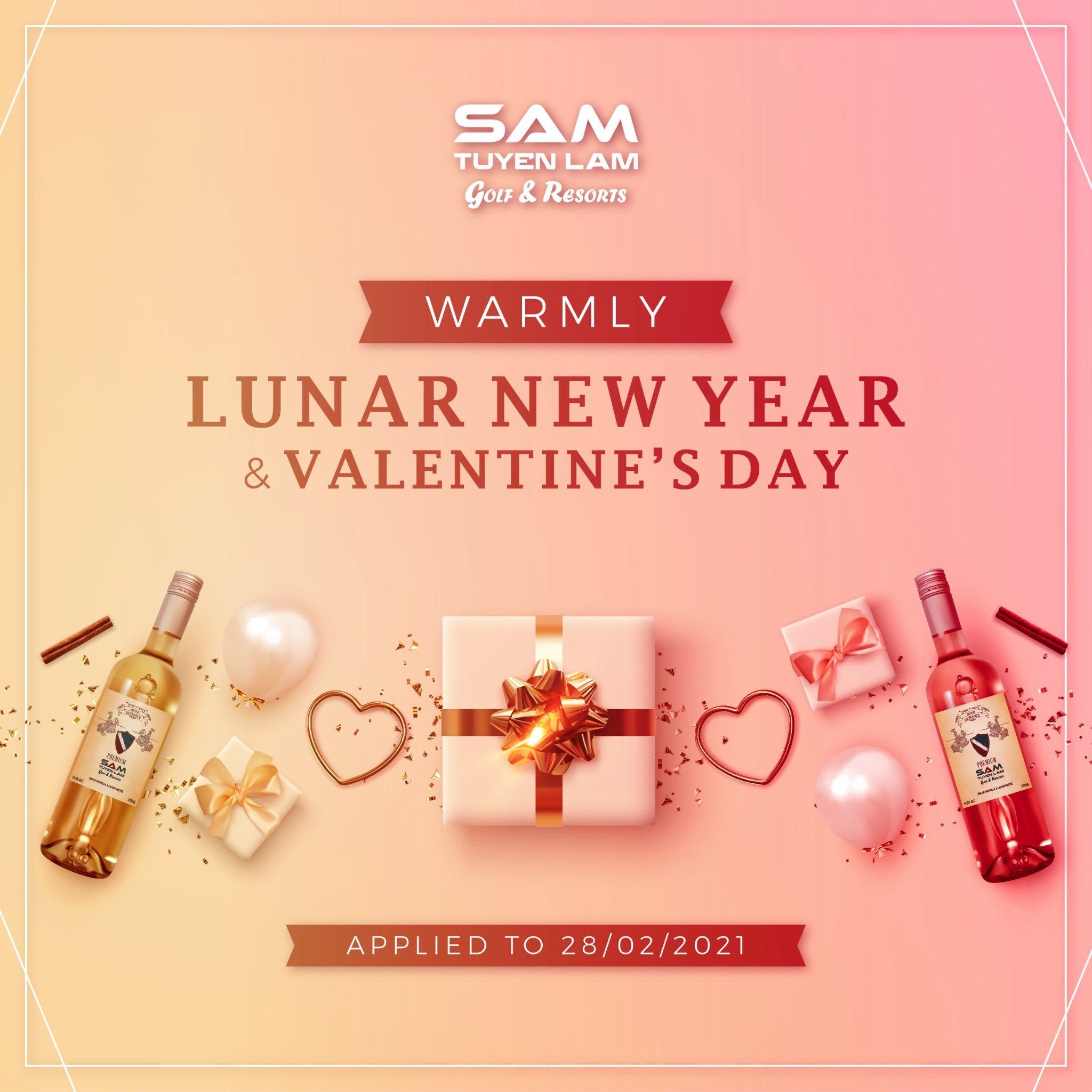 Lunar New Year & Valentine 2021